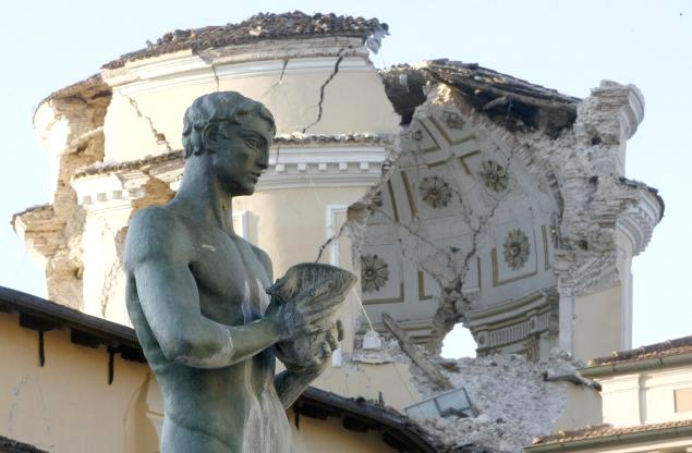 L'Aquila after 2009 Earthquake
