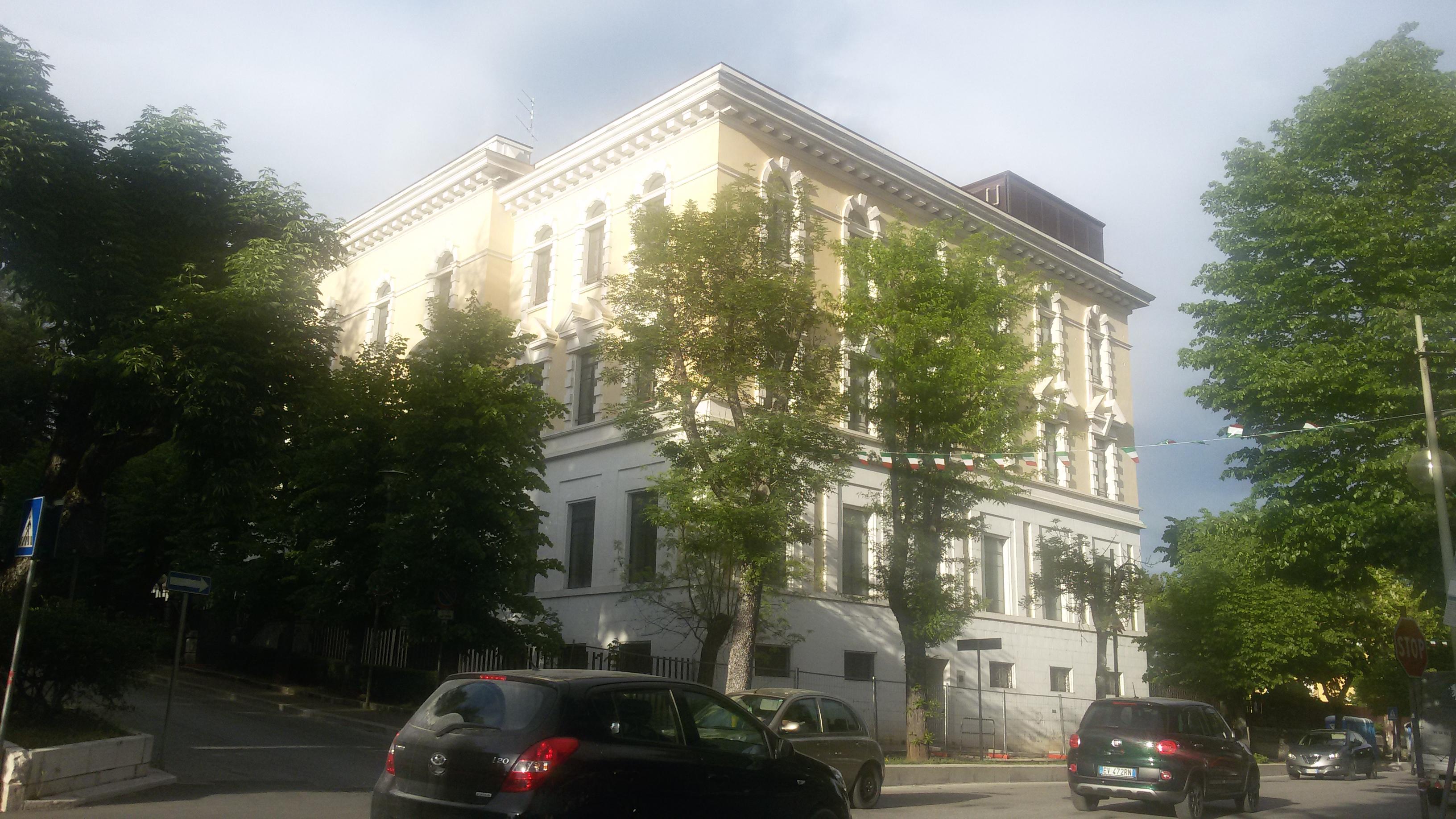Regione Abruzzo – Palazzo dell'Emiciclo – Sede del Consiglio Regionale